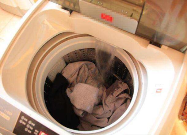 洗衣机脱水
