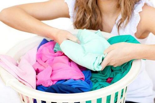洗衣机衣服多
