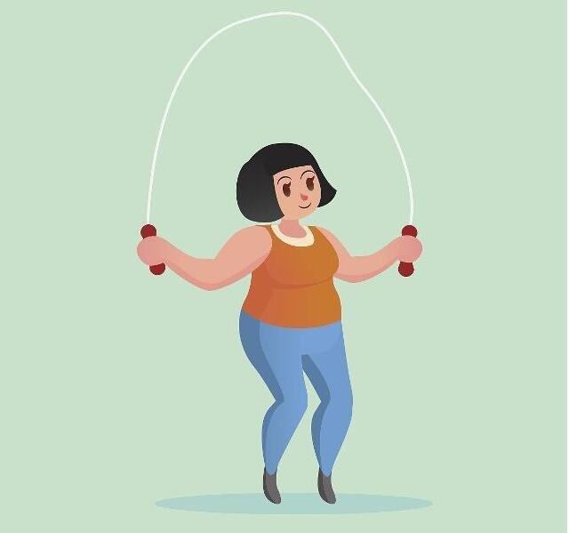 跳绳为什么能减肥?